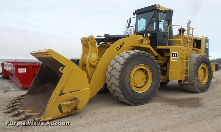 1982 Caterpillar 988B wheel loader