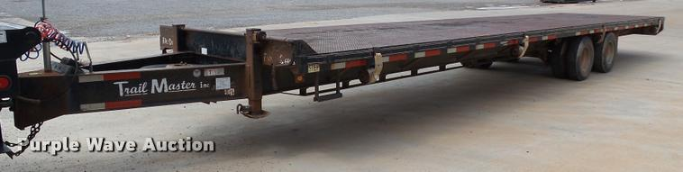 2004 Trailmaster equipment trailer