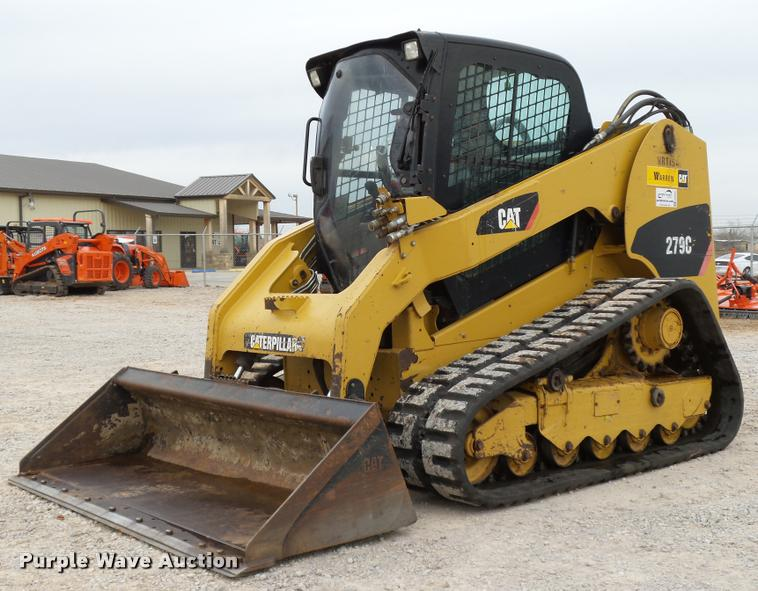 2010 Caterpillar 279C skid steer