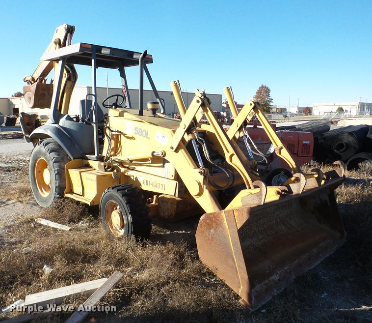 Case 580L backhoe
