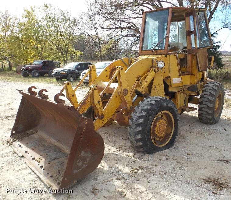 1978 Caterpillar 920 wheel loader