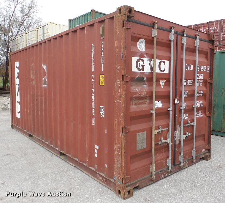GVC storage container