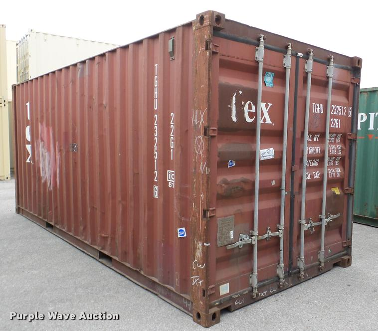 TEX storage container