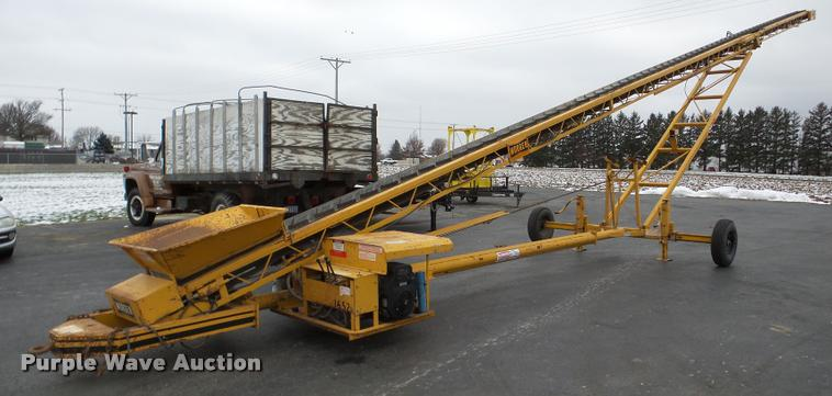 Morgen RC68 conveyor