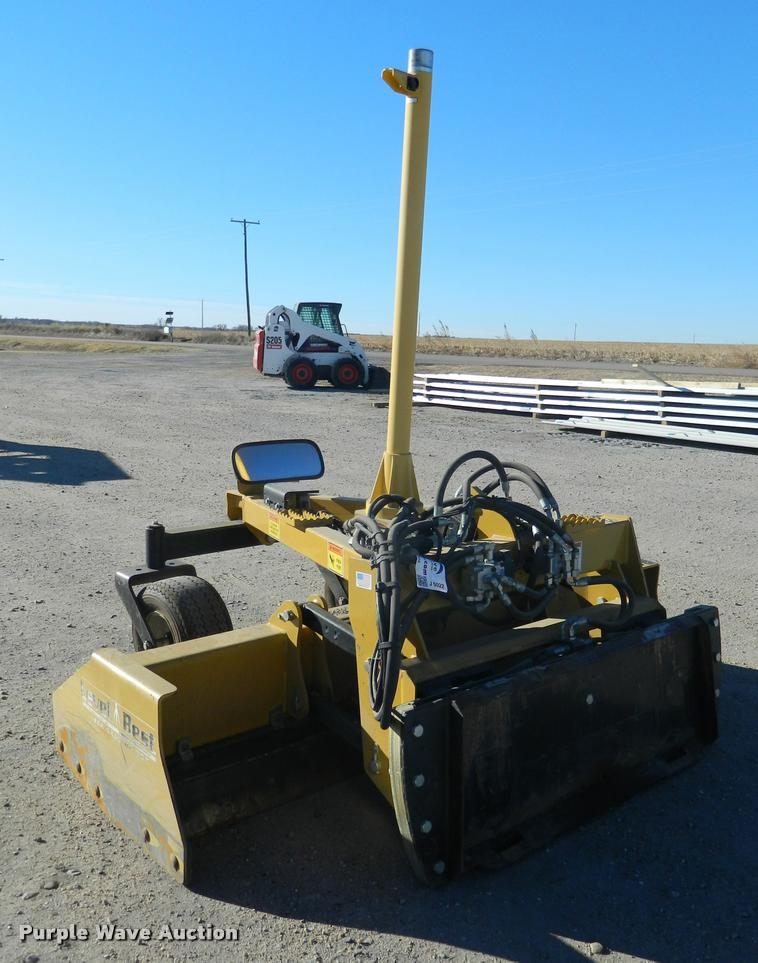 2013 Level Best PL84D skid steer laser grading box