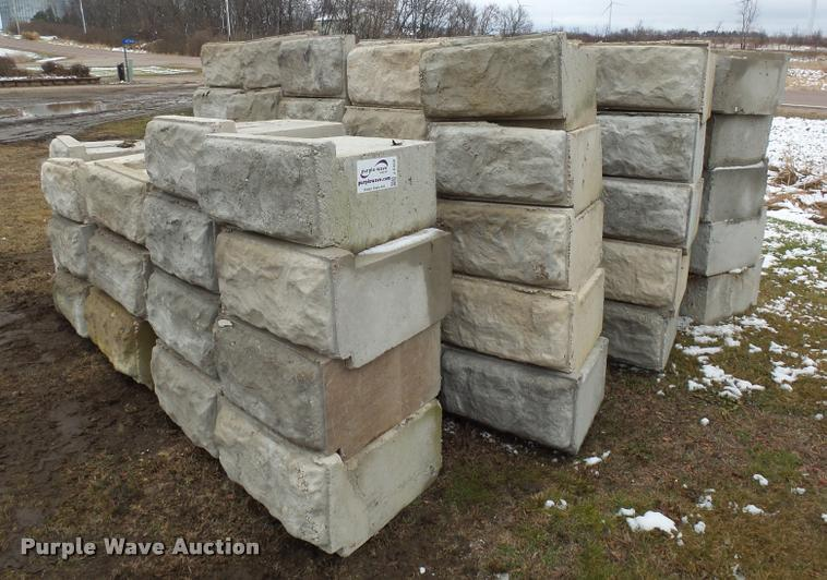 (92) concrete blocks