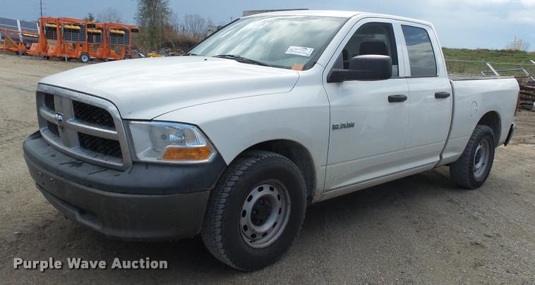 2009 Dodge Ram 1500 Quad Cab pickup truck