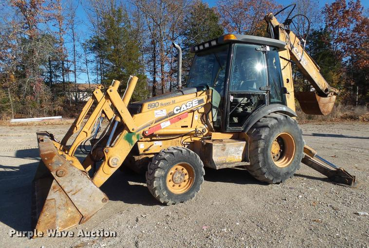 2006 Case 590 Super M Series II backhoe