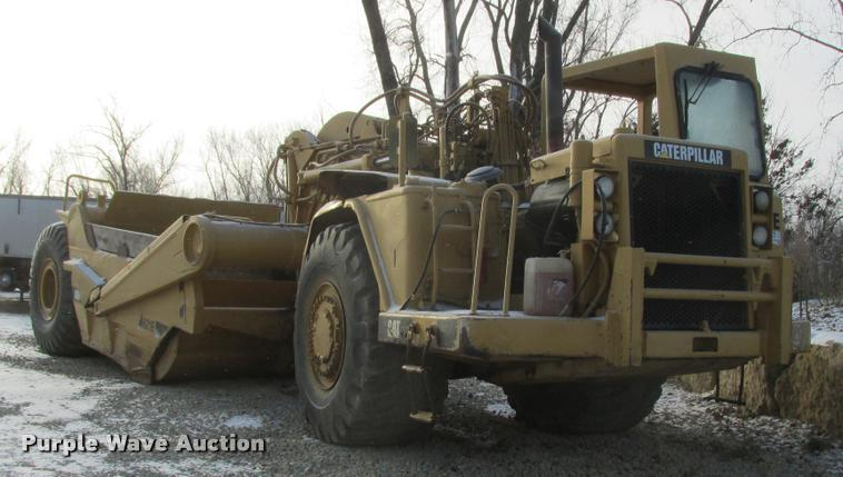 1988 Caterpillar 621E conventional scraper