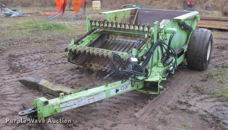 Schulte RS320 jumbo rock picker