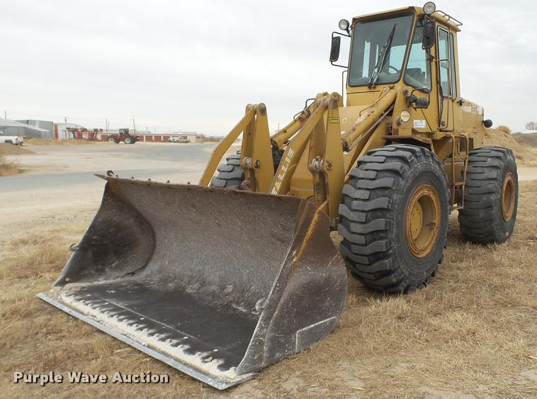 1987 Fiat-Allis FR15B wheel loader