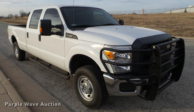 2012 Ford F250 Super Duty CrewCab pickup truck