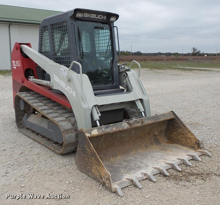 2004 Takeuchi TL150 skid steer