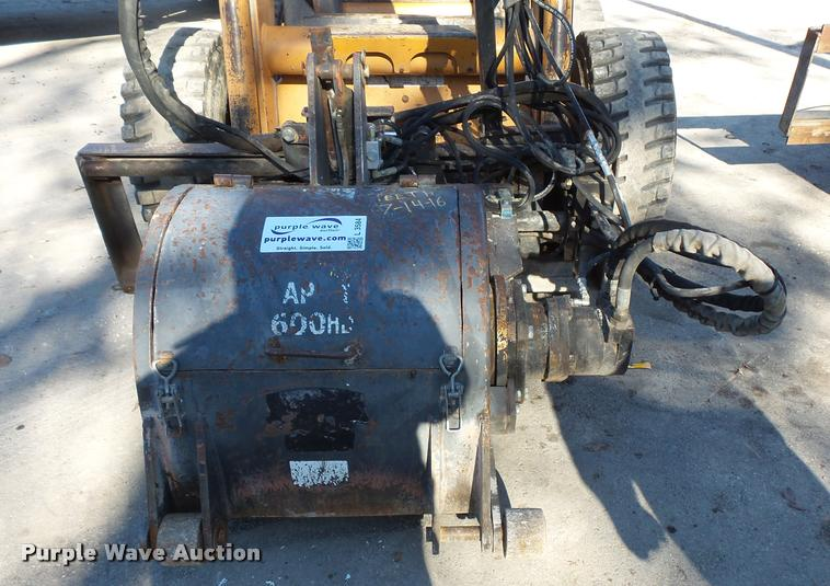 2005 Cone Qtec AP600HD skid steer cold planer
