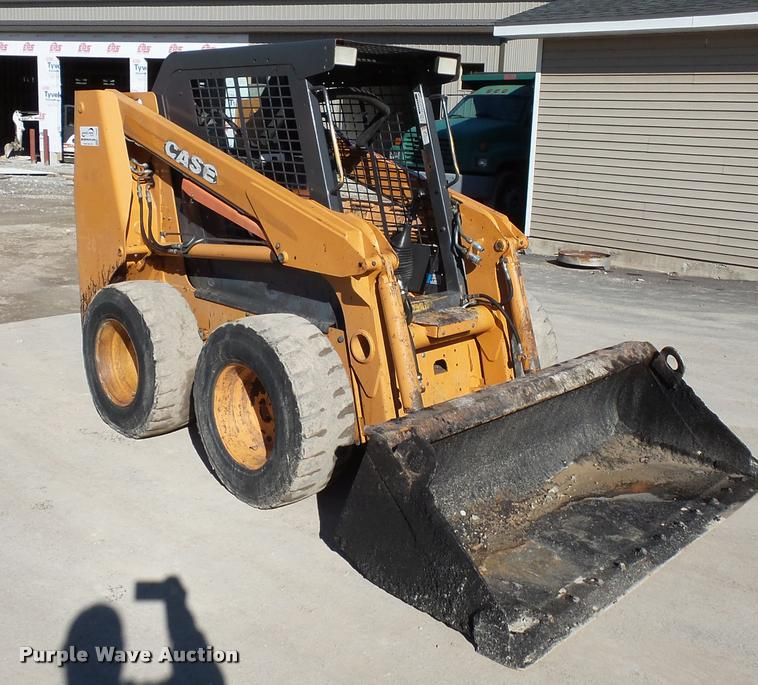 2005 Case 430 skid steer