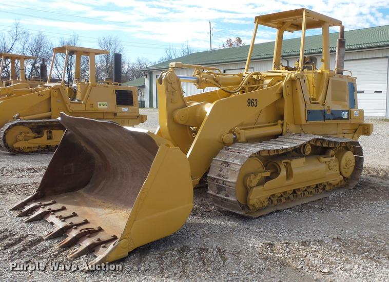 1989 Caterpillar 963 track loader