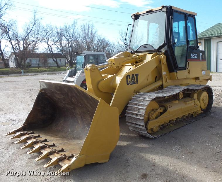 1996 Caterpillar 953C track loader