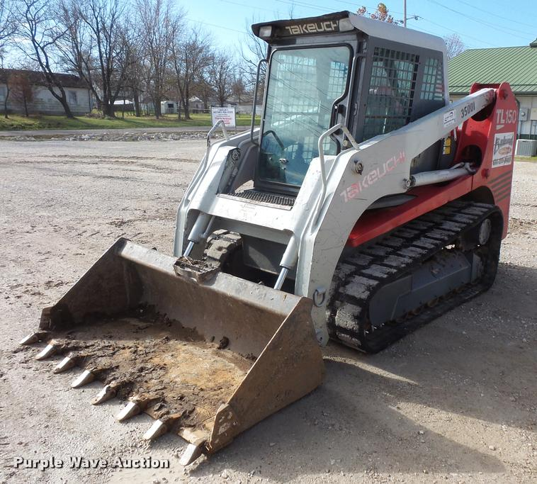 2001 Takeuchi TL150 skid steer