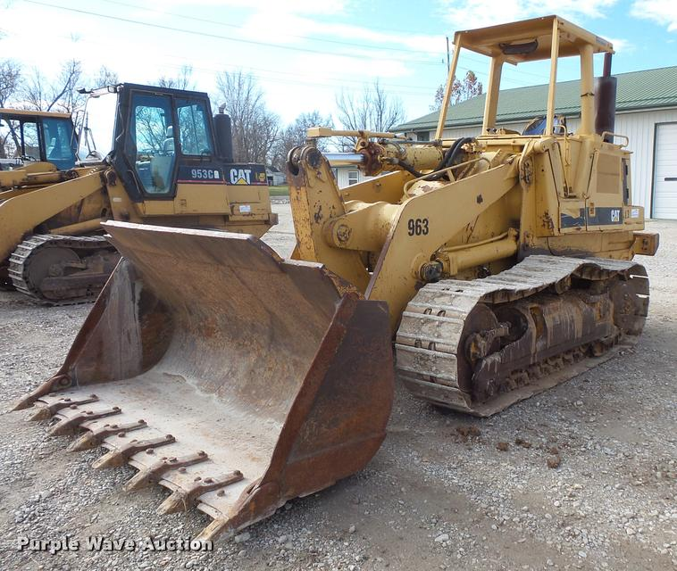 1987 Caterpillar 963 track loader
