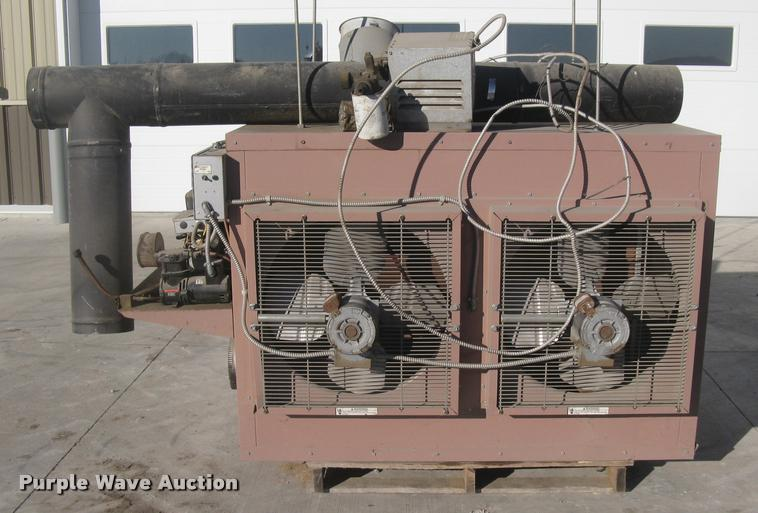 2006 Reznor RA350 oil burner heater