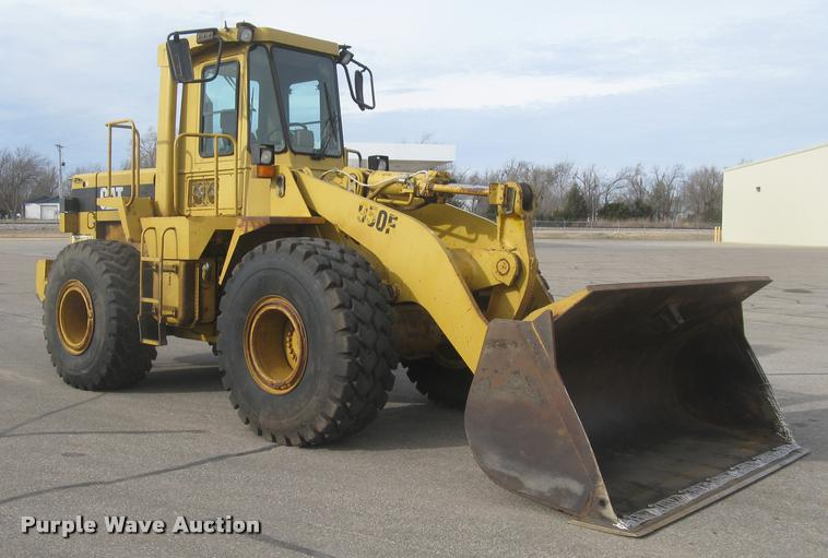 1992 Caterpillar 950F wheel loader