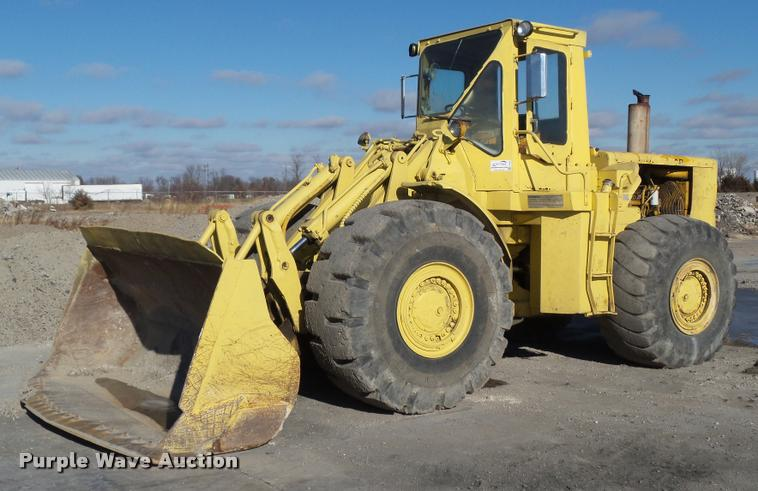1976 Caterpillar 980B wheel loader
