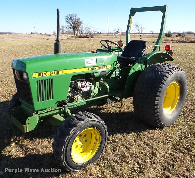 John Deere 950 Tractor Seat : Vehicles and equipment auction in wichita kansas by