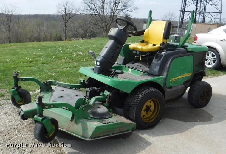 government auction in mission kansas by purple wave auction john deere 1445 series ii lawn mower