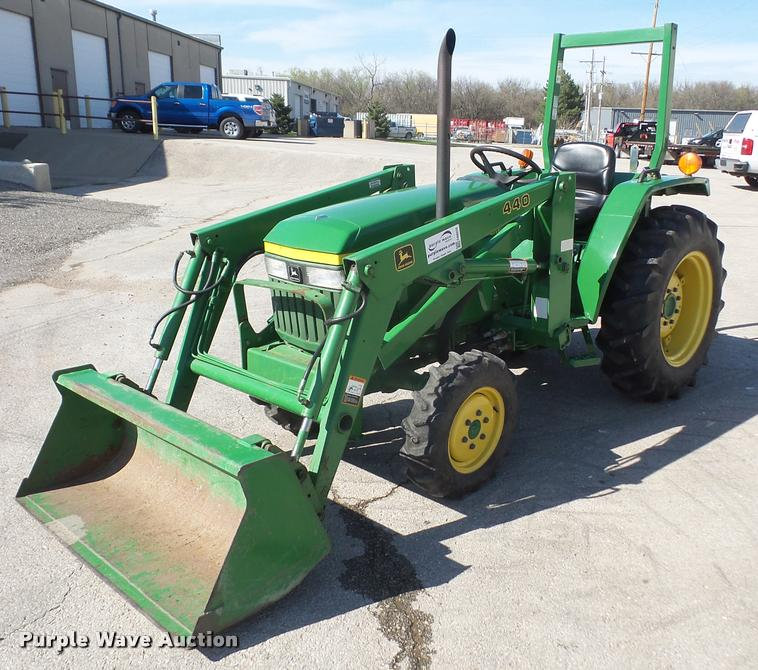 John Deere 870 Tractor Seat : Ag equipment auction in cheney kansas by purple wave