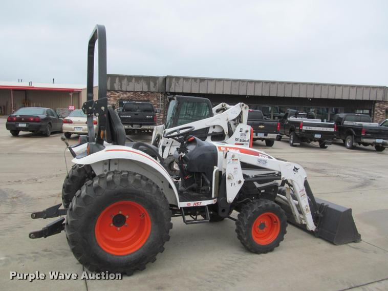 Bobcat Ct235 For Sale  12715994  From Purple Wave  Inc   2719     Construction Equipment Guide