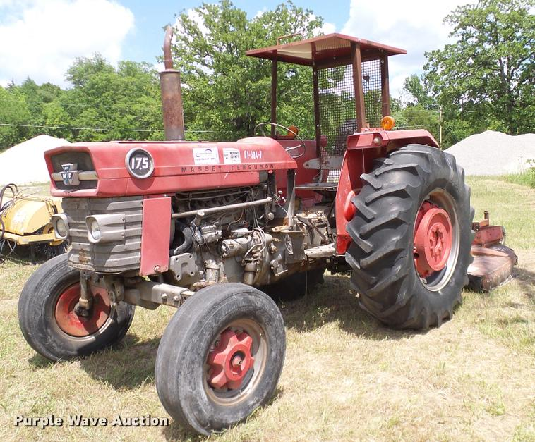 Massey 175 Diesel : Auction listings in auctions purple wave inc