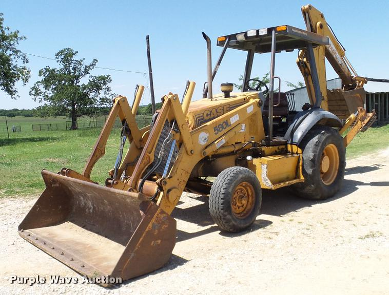 Case 580l Backhoe Seat : Case l backhoe item da sold june