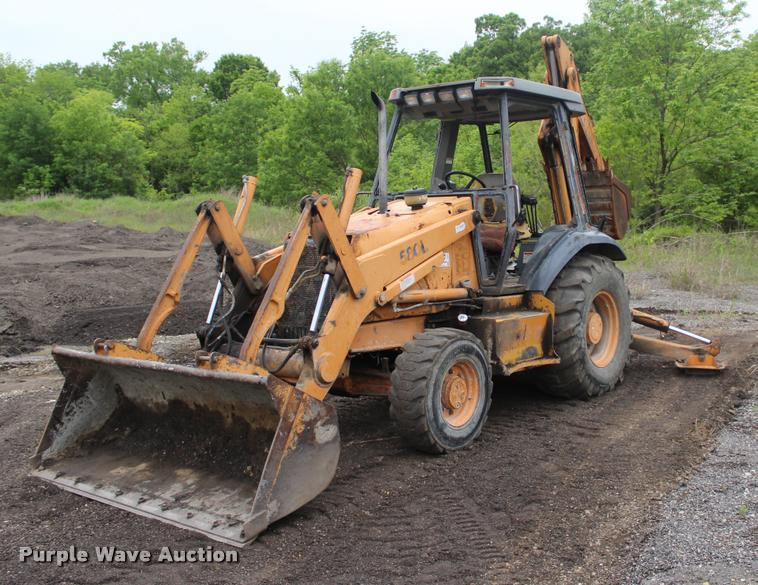 Case 580l Backhoe Seat : Case l backhoe item sold june