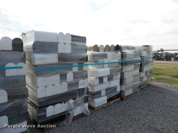 (4) pallets of mailboxes