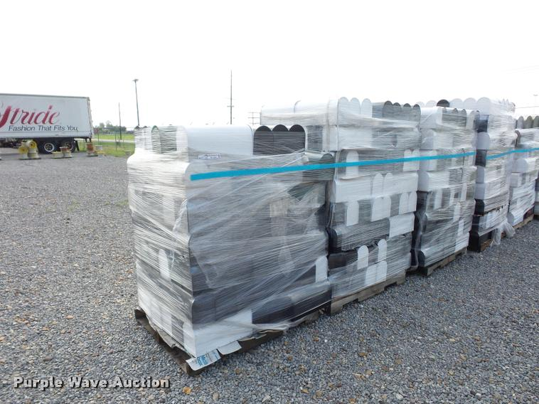 (3) pallets of mailboxes