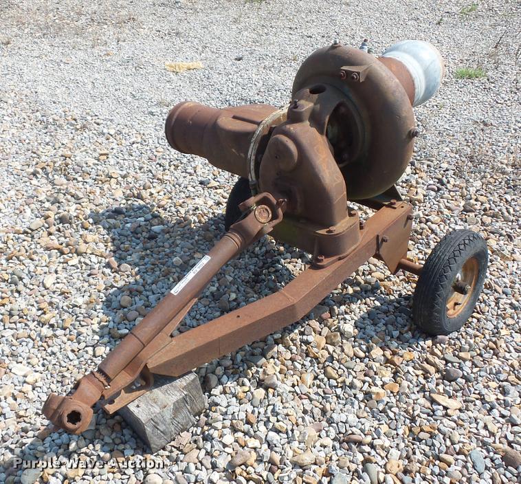 Gorman Rupp water pump