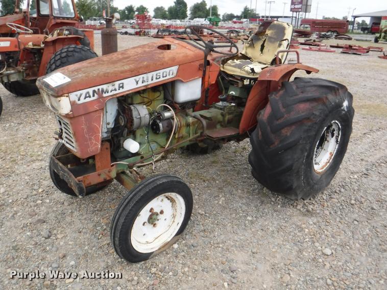 Yanmar YM1600 tractor