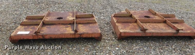 (2) Howse rotary mower decks