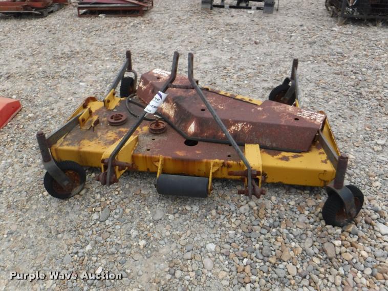 Finish mower parts