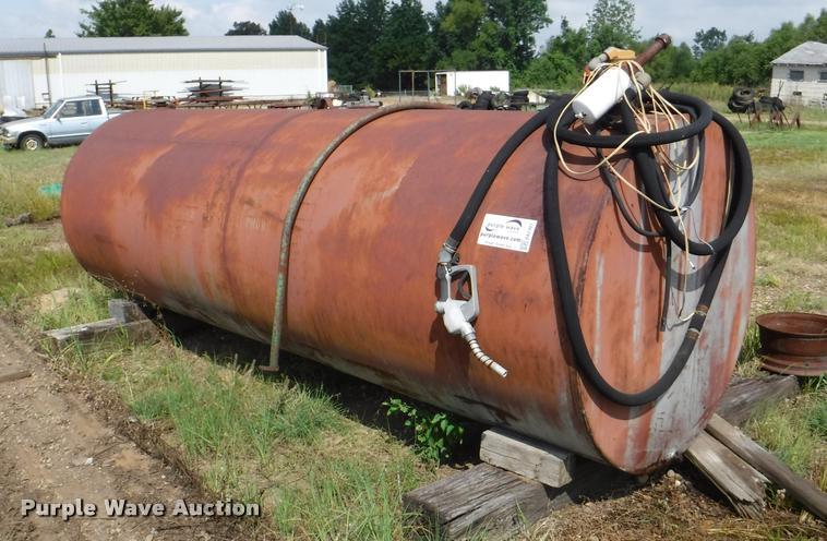Midwest steel fuel tank