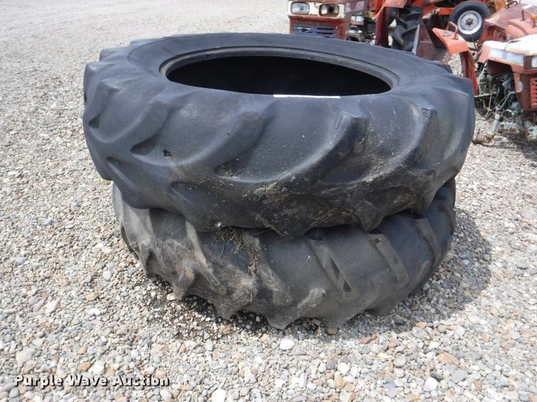 (2) 18.4-38 tires