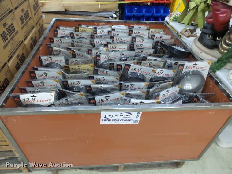 (1,578) Buffalo Tools 12V spotlights