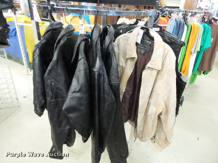 Jackets, vests, bags, and gloves