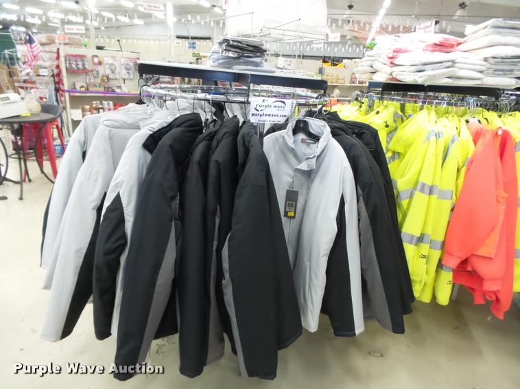 Vests, coats, and shirts