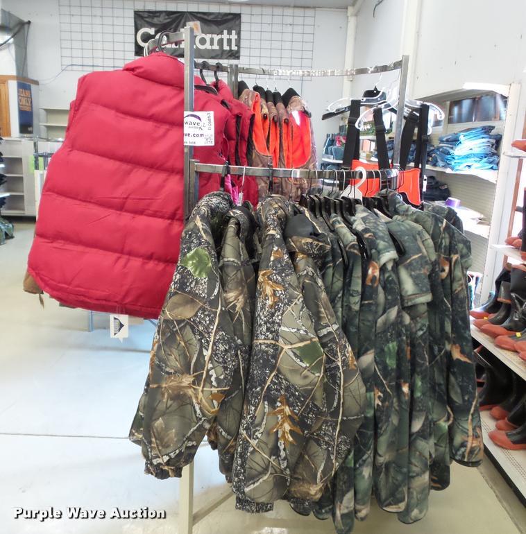 Mens coats, vests, and overalls