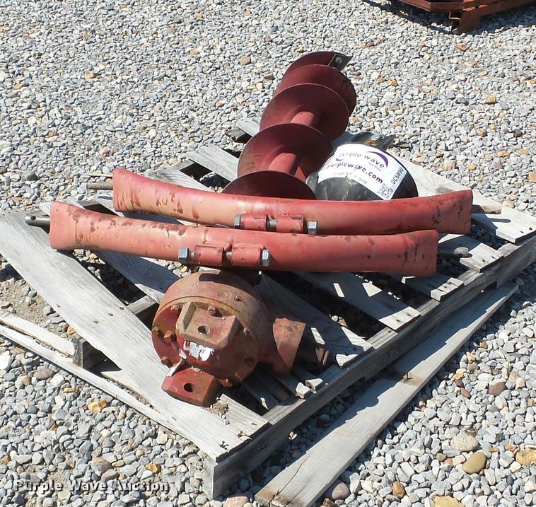 Post hole auger parts