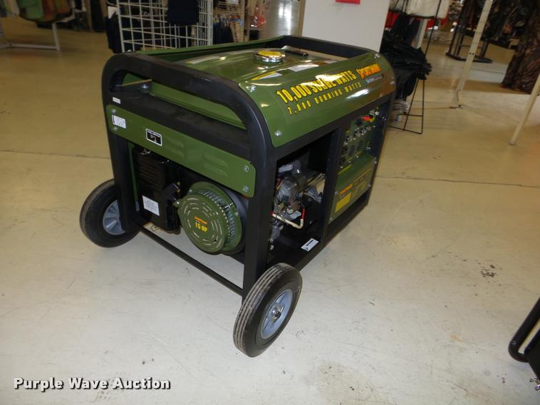 Buffalo Sportsman Gen 10K generator