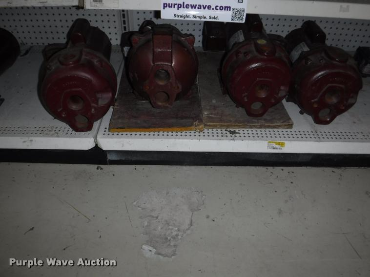 (4) GE water ace pumps