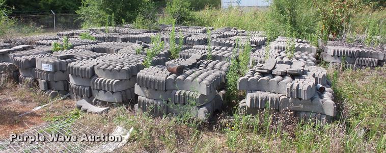 Approximately 45 pallets of landscape edge blocks