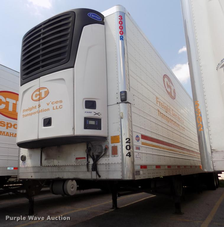 2014 Utility 3000R refrigerated van trailer